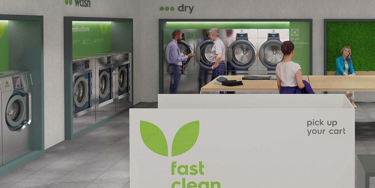 washing machine showroom